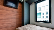 【2020年5月リニューアル】7Fセミダブル・階層ごとに異なるデザインを楽しめるお部屋です