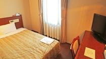【シングル/喫煙・禁煙】13.5平米☆ベッド幅120 全室Wi-Fi&お水のペットボトル付!
