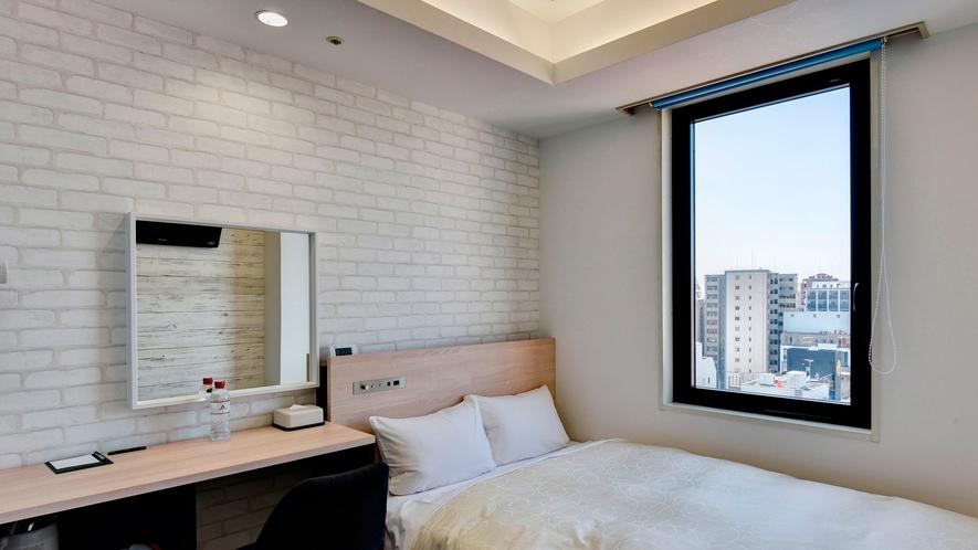【2020年5月リニューアル】12Fセミダブル・階層ごとに異なるデザインを楽しめるお部屋です