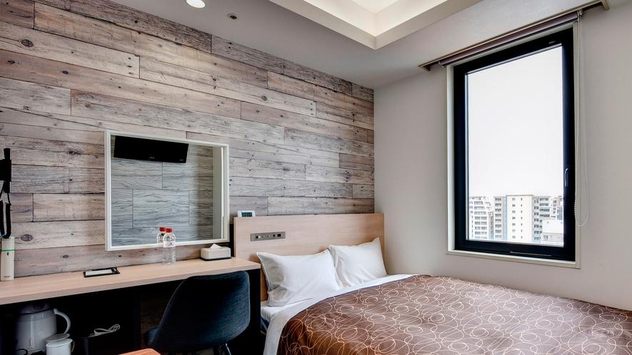 【2020年5月リニューアル】11Fセミダブル・階層ごとに異なるデザインを楽しめるお部屋です