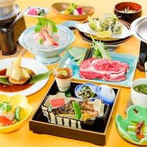 *【料理一例】山と海の旬の恵みを使用した料理