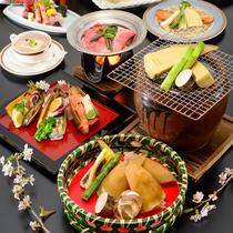 *四季旬彩 極春膳/選りすぐりの食材を使った最高ランクの夕食コース