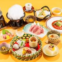 *冬の華コース/リーズナブルにお食事をお楽しみ頂けます。