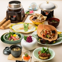*秋の華コース/リーズナブルにお食事をお楽しみ頂けます。