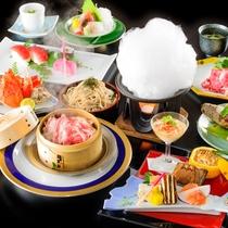 *四季旬彩 冬膳/厳選した地のものに、料理長が腕を振るった料理をご堪能ください。