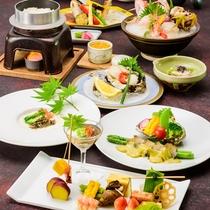 *四季旬彩 極夏膳/厳選した旬の食材と料理長が腕を振るった料理の数々。