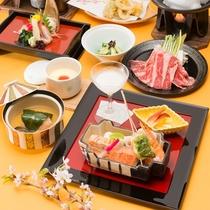 *春の華コース/リーズナブルにお食事をお楽しみ頂けます。