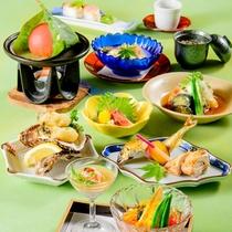 *夏の華コース/リーズナブルにお食事をお楽しみ頂けます。