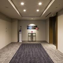 レディースフロア・エレベーターホール