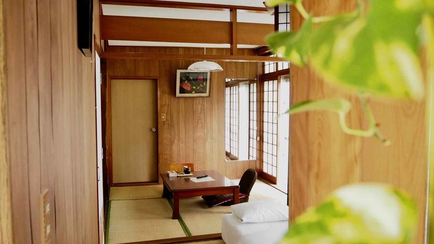 ・【スタンダードルーム日本間】のんびり寛げる和室