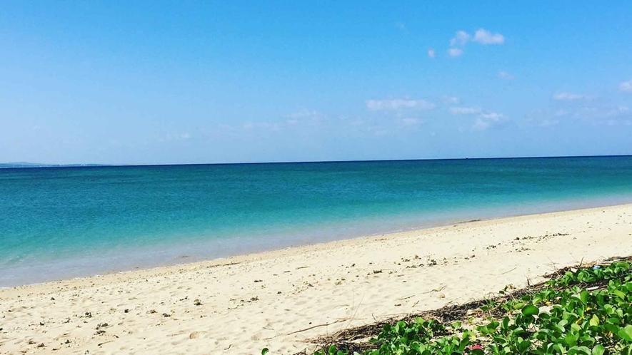・北部のビーチ
