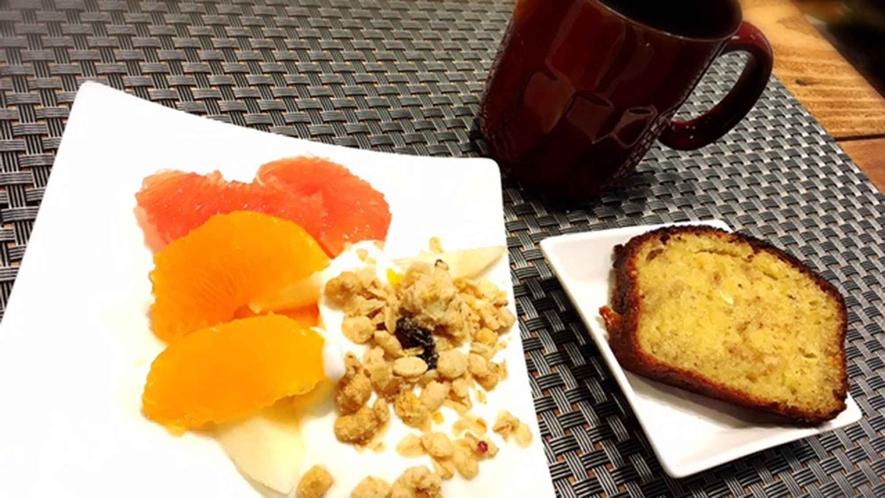 ・【朝食一例】体に嬉しいヘルシーデザート