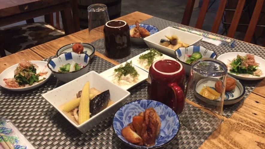 ・【朝食一例】美味しい朝食で贅沢な朝