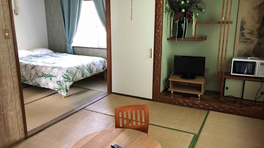 ・【スタンダードルーム日本間205】和室ダブルルームの部屋もございます。