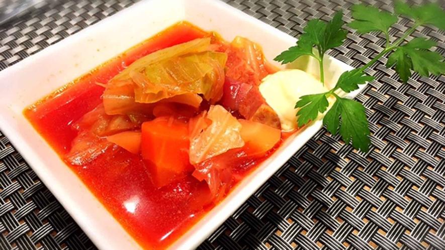 ・【朝食一例】日替わりスープ