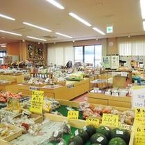 *【ゆぽっぽの特産品】地元で作られた新鮮な地取れ野菜の直売や、魅力的な商品が多数!!