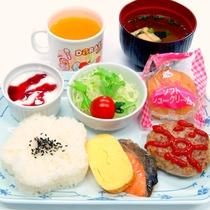 【朝食一例】お子様用朝食(幼児~10歳前後用)