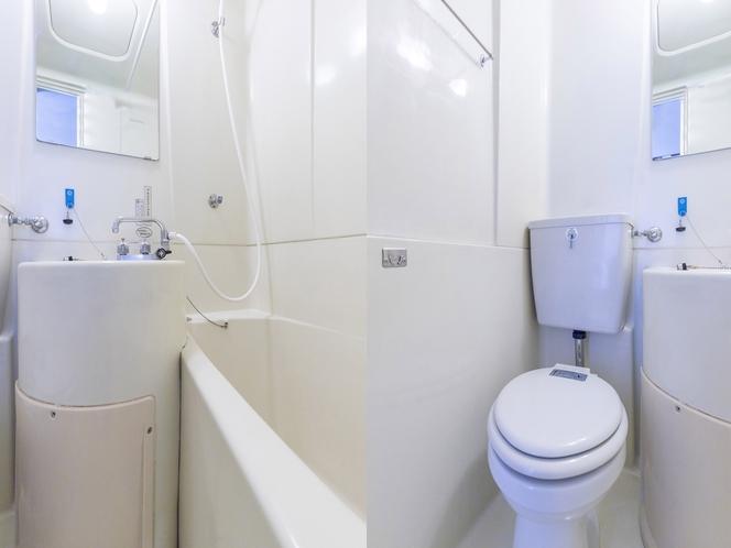 【喫煙】和室四人部屋 バス・トイレ