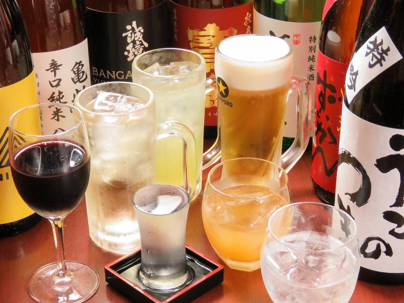 紅葉亭 地酒