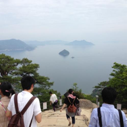 宮島「弥山」みせん山頂