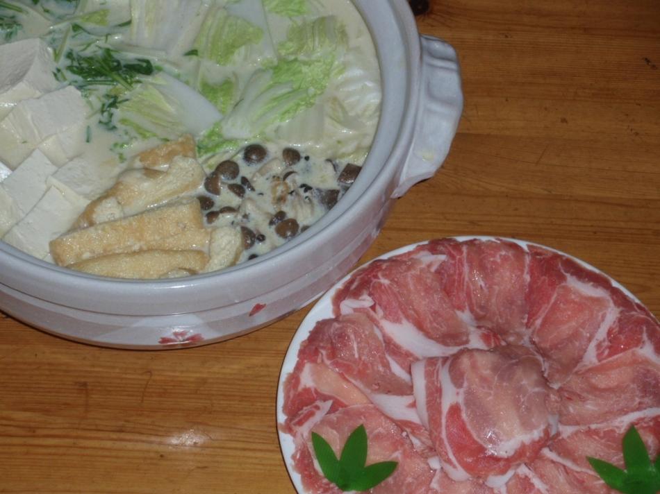 豆乳鍋コース