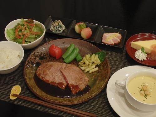 ステーキディナー(一例)