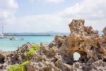 古宇利島の海(チグヌ浜)