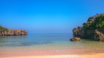 古宇利島の海(トケイ浜)