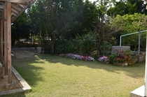 かねやの庭です