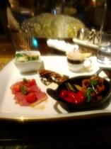 夕食(いろいろ野菜とお肉のグリル&)