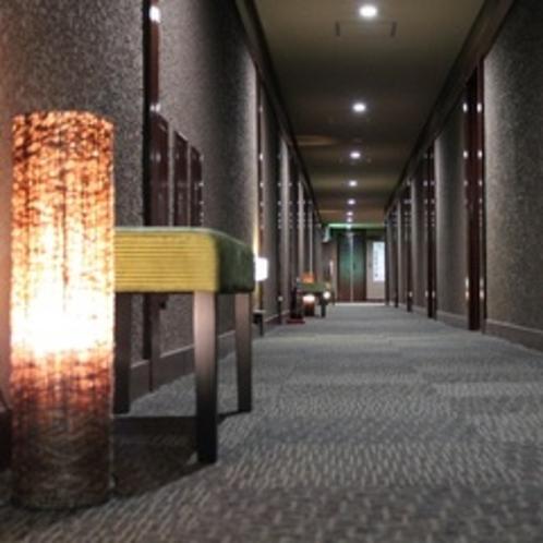 落ち着きのある廊下