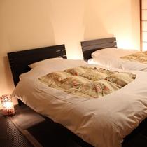 和室タイプは和室にベッドを配置