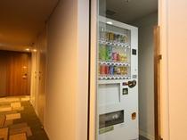 【自動販売機】各階にご用意しております