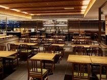 【1階ボンサルーテKABUKI】テーブル席①