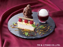 【8階ボンジュール】オリジナルのゴジラケーキ!!