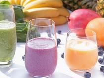 【朝食:8階ボンジュール】旬な野菜や果物を使ったスムージーは毎朝キッチンでブレンドしてます