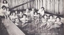 *【昭和の風景】湧き出る冷泉。入浴で賑わうお客様