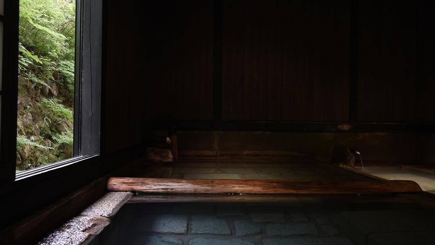 *【切石湯】弱酸性の名湯に浸かり、癒しのひと時を…