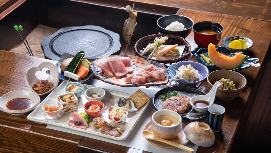 *【弐の膳】食の愉悦。山川の恵みをそのままいただく自慢の会席と厳選されたお酒。