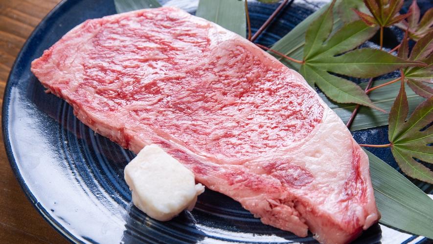 *【参の膳】メインはA4霜降り豊後牛サーロインステーキ!