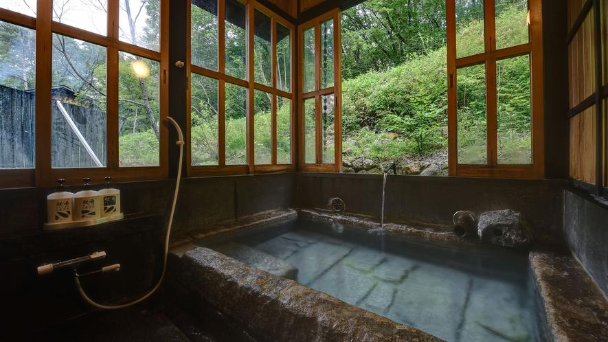 *【家族風呂】自分たちだけの空間で歴史ある温泉を堪能。