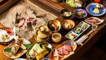 *【夕食一例】旬の素材がもつ美味しさをそのままお愉しみ頂けます。