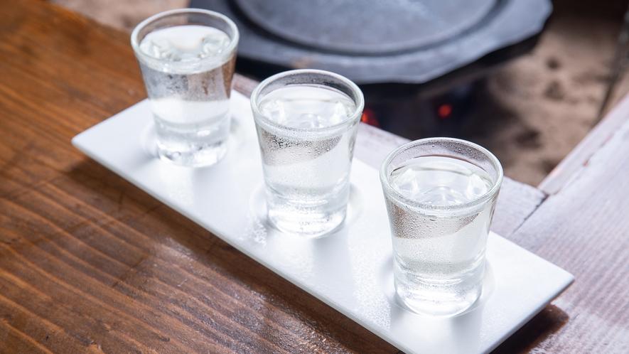 *【飲み比べセット】館主厳選の日本酒から3種類をお選び下さい。