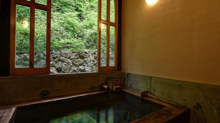 *【家族風呂】プライベート空間で温泉を満喫。
