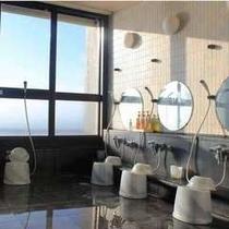 【大浴場】泉質の良い衝幹(つくもと)湯