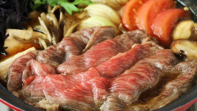 【冬季限定】鍋料理人気NO.1!ブランド牛「常陸牛」のすき焼きでほっこりあたたかな冬の贅沢…。