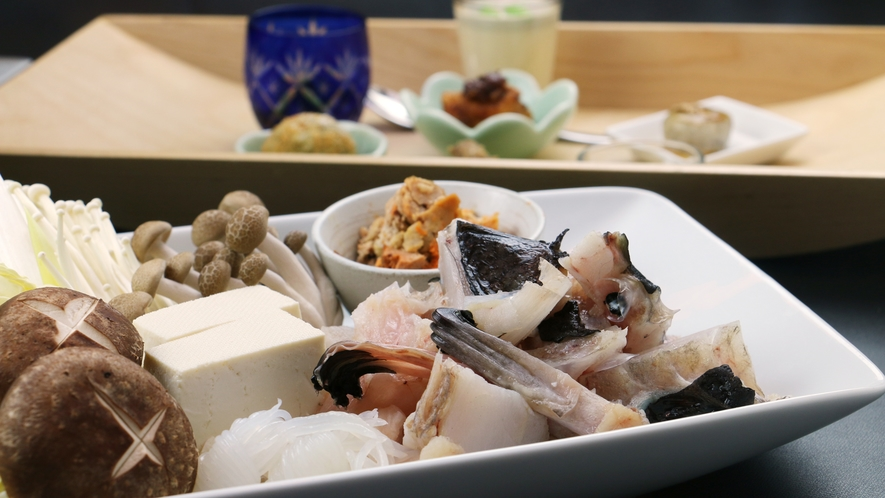 【About The Food/Dinner】冬限定 鍋はもちろんあん肝やから揚げなどで食べつくす口