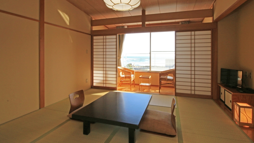 【Stay&Room】宿泊棟二階~太平洋一望 絶景の和室~8畳