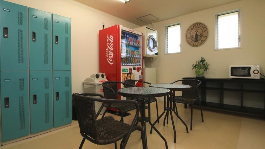 【Stay&Room】プールご利用のお客様もお使いいただけるフリースペース