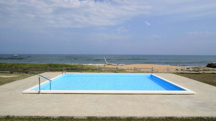 【Clapia&Pool】太平洋を眺めながら楽しめる野外プール